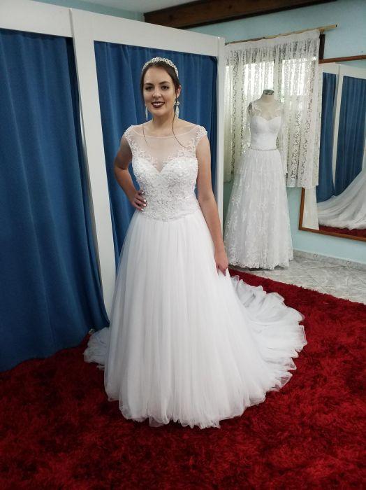Vestido de Noiva longo