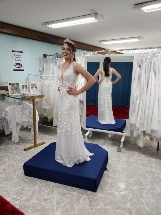 Vestido Noiva Justo